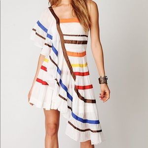 """Women's White """"Color Me Bad """" Free People dress"""